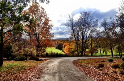 View from a friends driveway in Crozet, Va